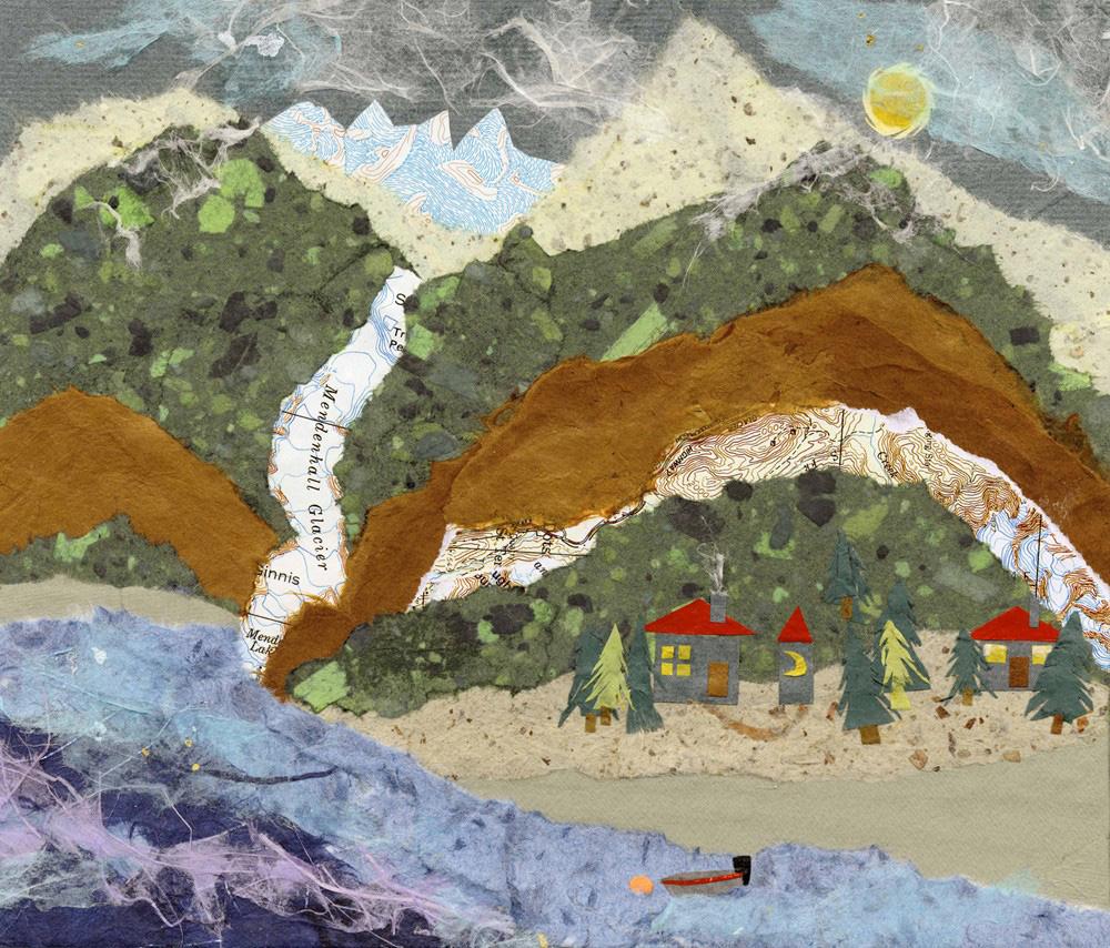 Mendenhall Glacier 8x7