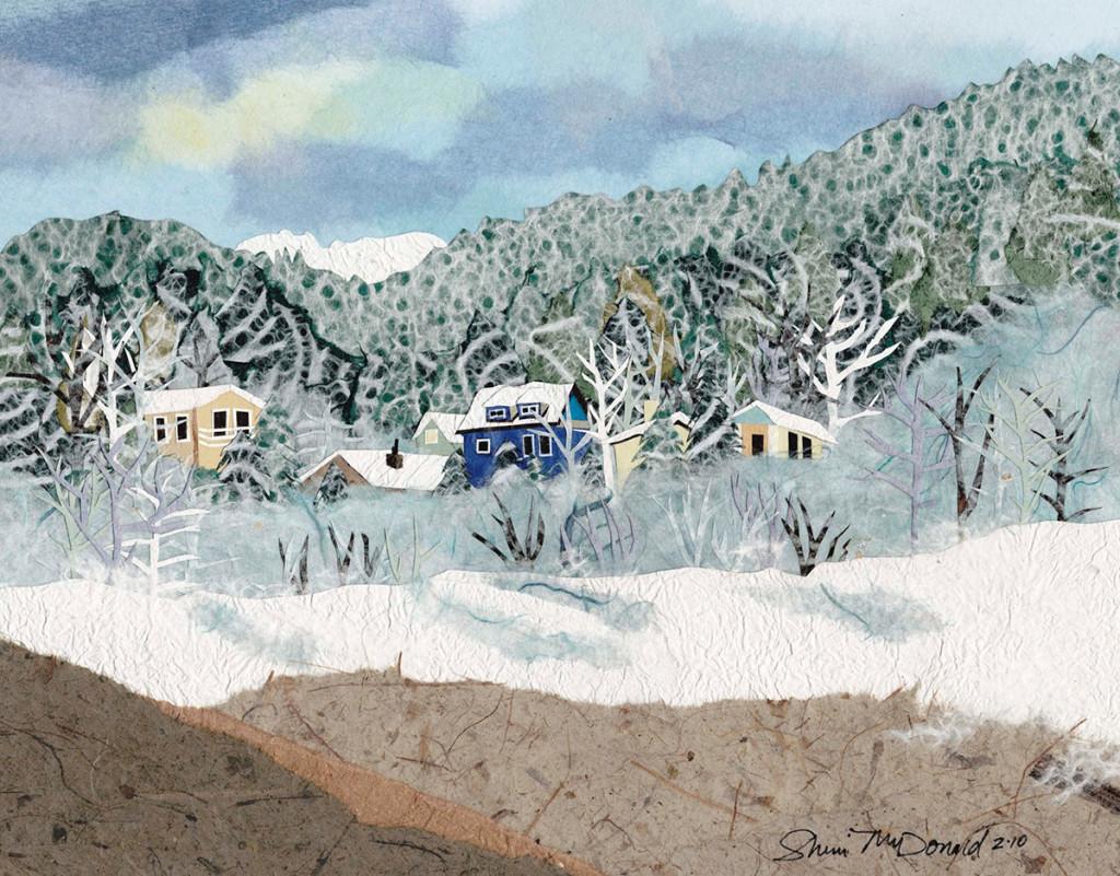 Cold December 11x9