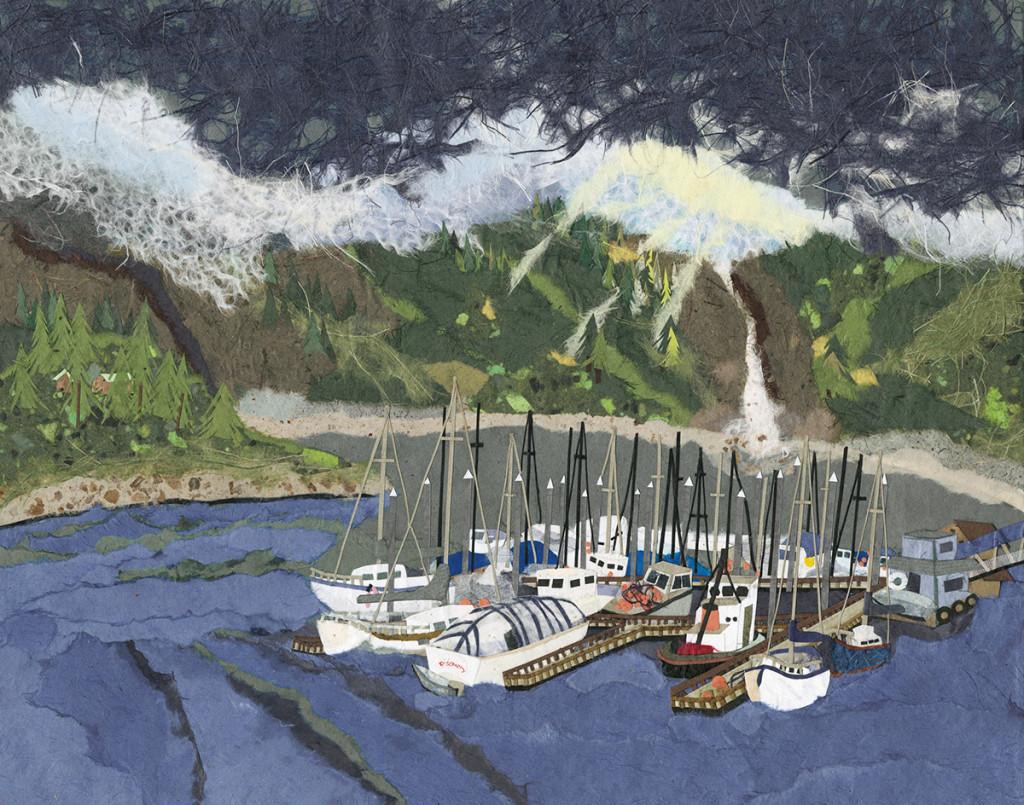 Douglas Harbor 11x14